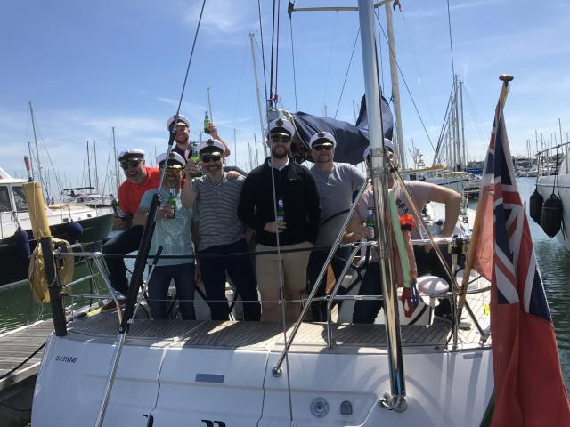 Brogue trader managers sail with spirit