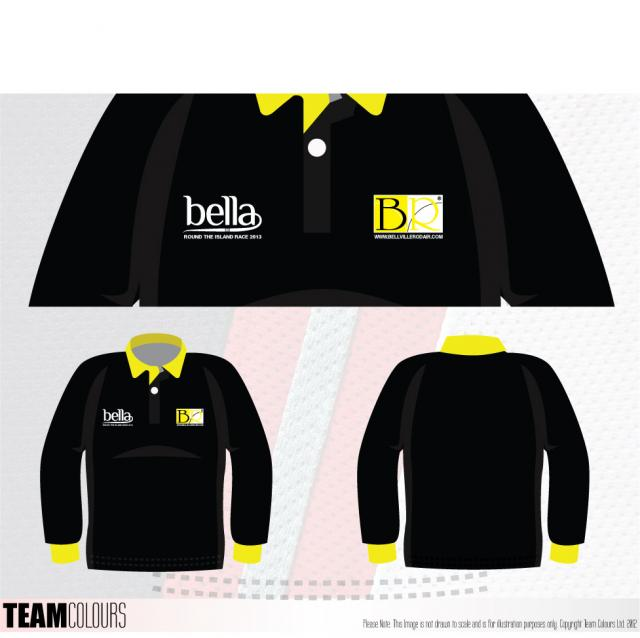 Revealed - Team Kit for Round the Island 2013