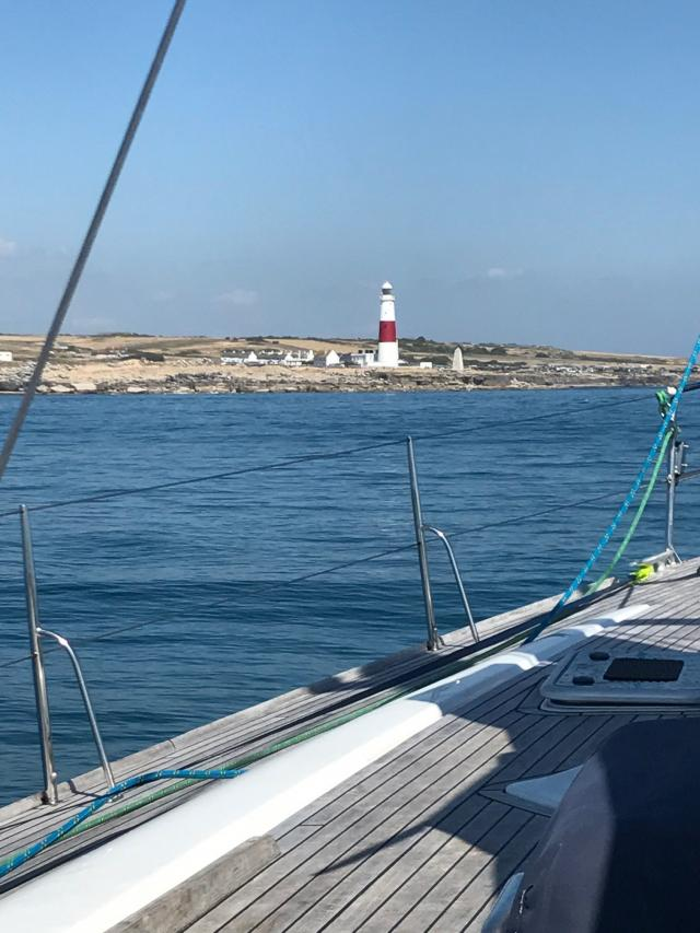 Summer Adventure: Approaching Portland Bill